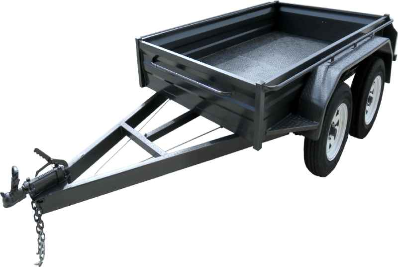 Heavy Duty Tandem Trailer With 300 mm Sidess