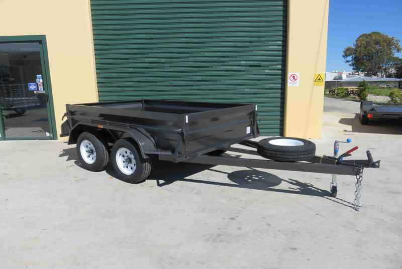 Heavy Duty Tandem Trailer With 500 mm Sides