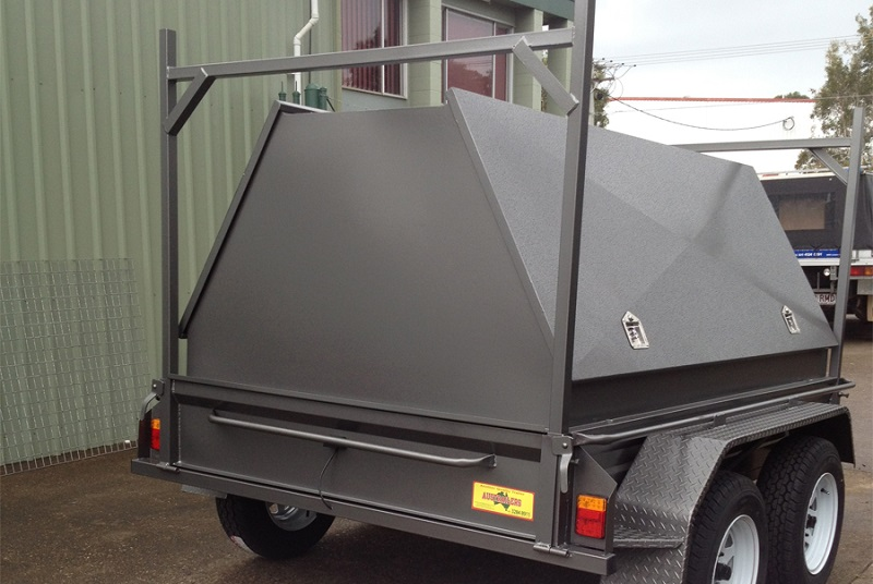 High Top Tradesman Trailer With Dual Axle