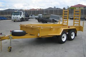 Tandem Plant Trailer With Ramps