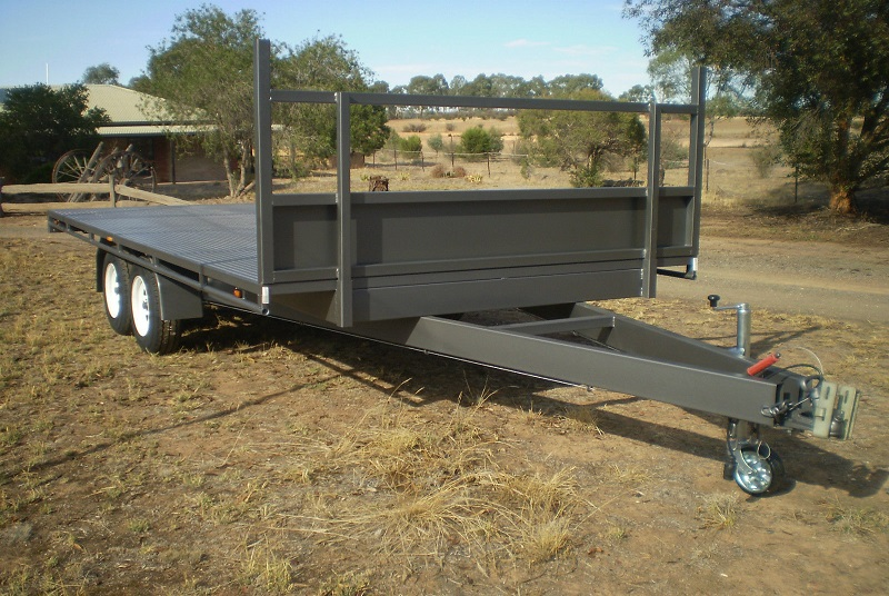 Tandem Table Top trailer