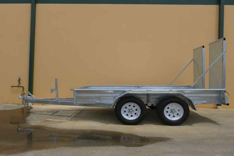 Tandem Trailers With Finger Ramps