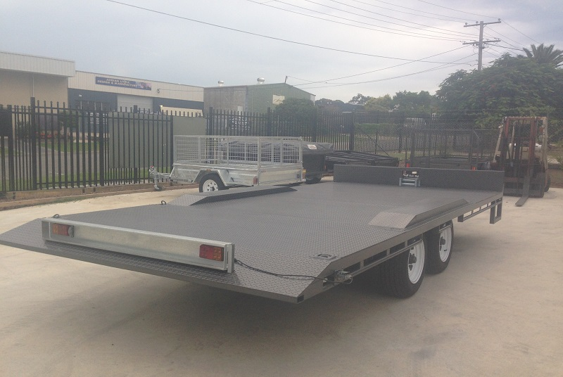 Tandem Table Top Trailer Tilt